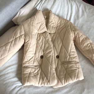 Free people quilted puffer